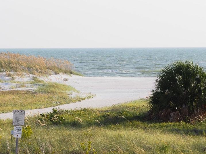 The beautiful Treasure Island beach has soft sand, warm and gentle ocean water.