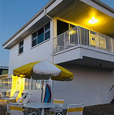 The Sands of Treasure Island is a great place to getaway and enjoy an evening on the beach.