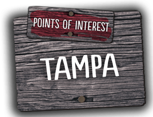 We welcome you to explore various points of interest in Tampa, Florida.