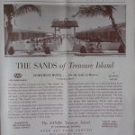 The Sands of Treasure Island on the Gulf of Mexico, Florida.