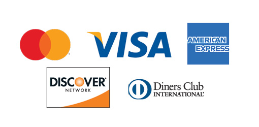 Discover, Visa, American Express, Mastercard and Diners Club are accepted forms of payment at The Sands of Treasure Island.