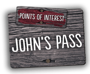 We welcome you to explore various points of interest including nearby John's Pass.