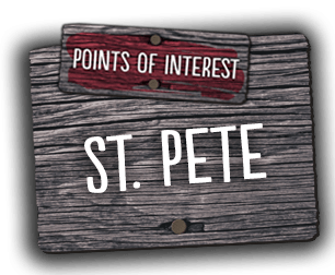 We welcome you to explore various points of interest in St. Petersburg, Florida.